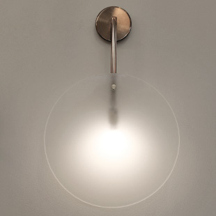 glass wall lamp